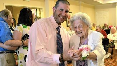 Resident attends her first prom at 99 at Brightview Mays Chapel