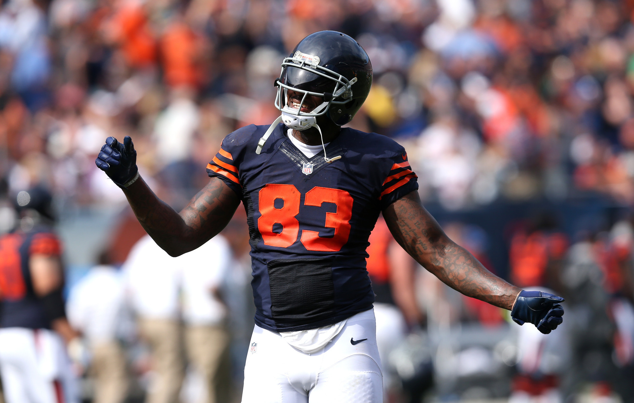Martellus Bennett puts colorful spin on Bears loss Chicago Tribune