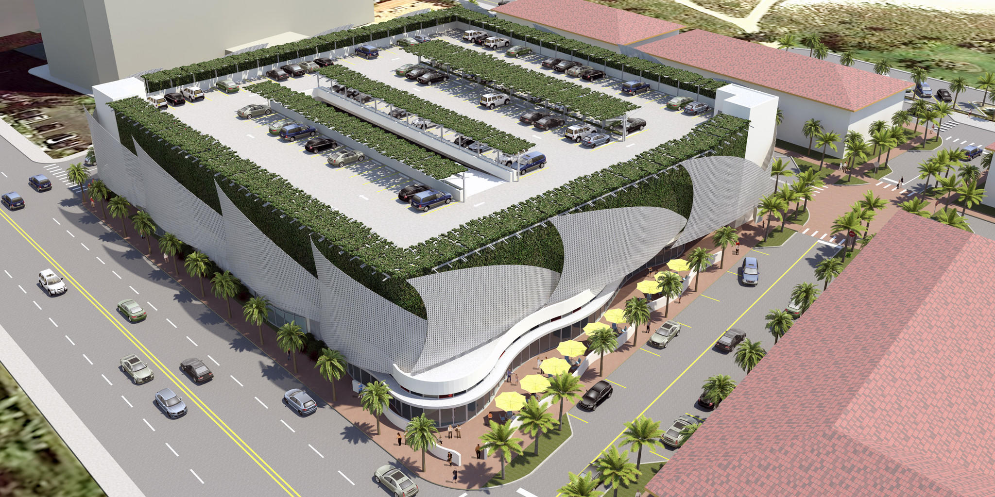 Pompano beach plans to build a 20 million parking garage for Cost to build a 1 car garage