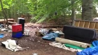Video: Denbigh homeless camp