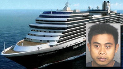Cruise ship worker pleads guilty to rape