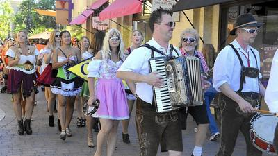 Beer, bratwurst and dachshund races: Oktoberfest taps into the party spirit