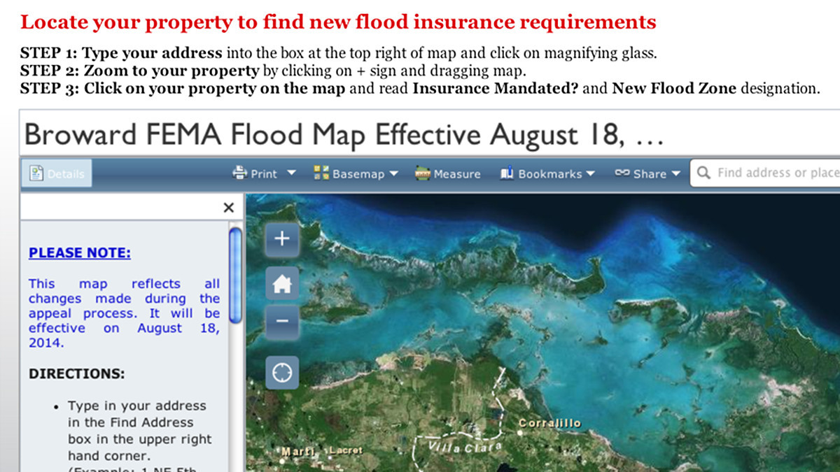Interactive Has Your Flood Insurance Requirements Changed Sun - Fema flood zone map florida