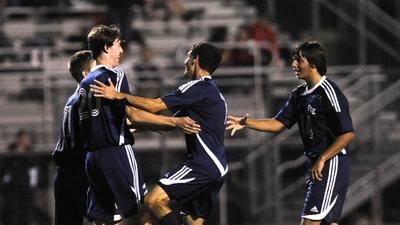 Boys Soccer: Gosselin, Eagles turn trick on WM