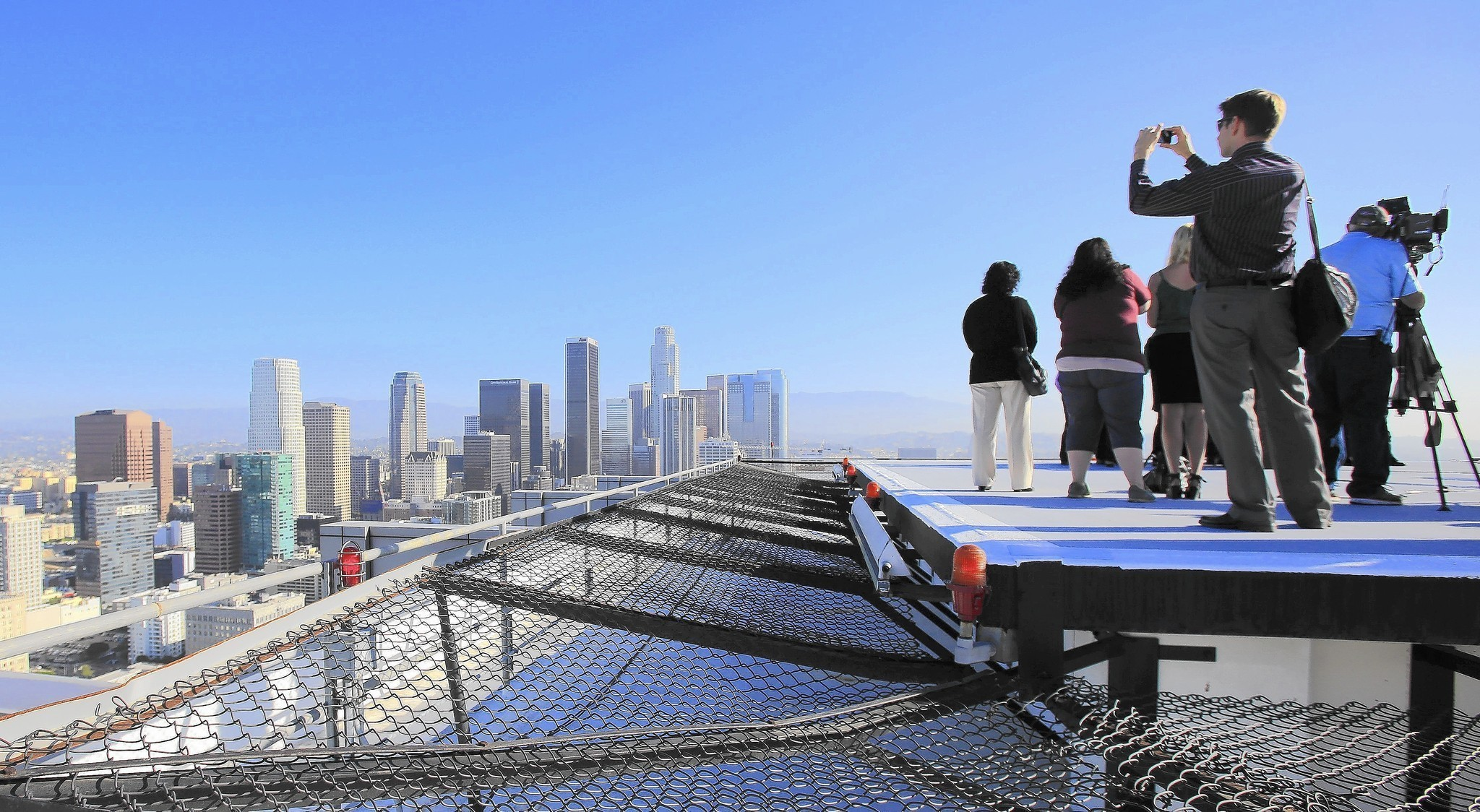 Without mandatory helipads, L.A. skyline can take off