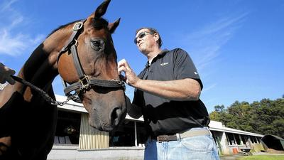 New to horse racing, Cockeysville owner comes flying out of the gate