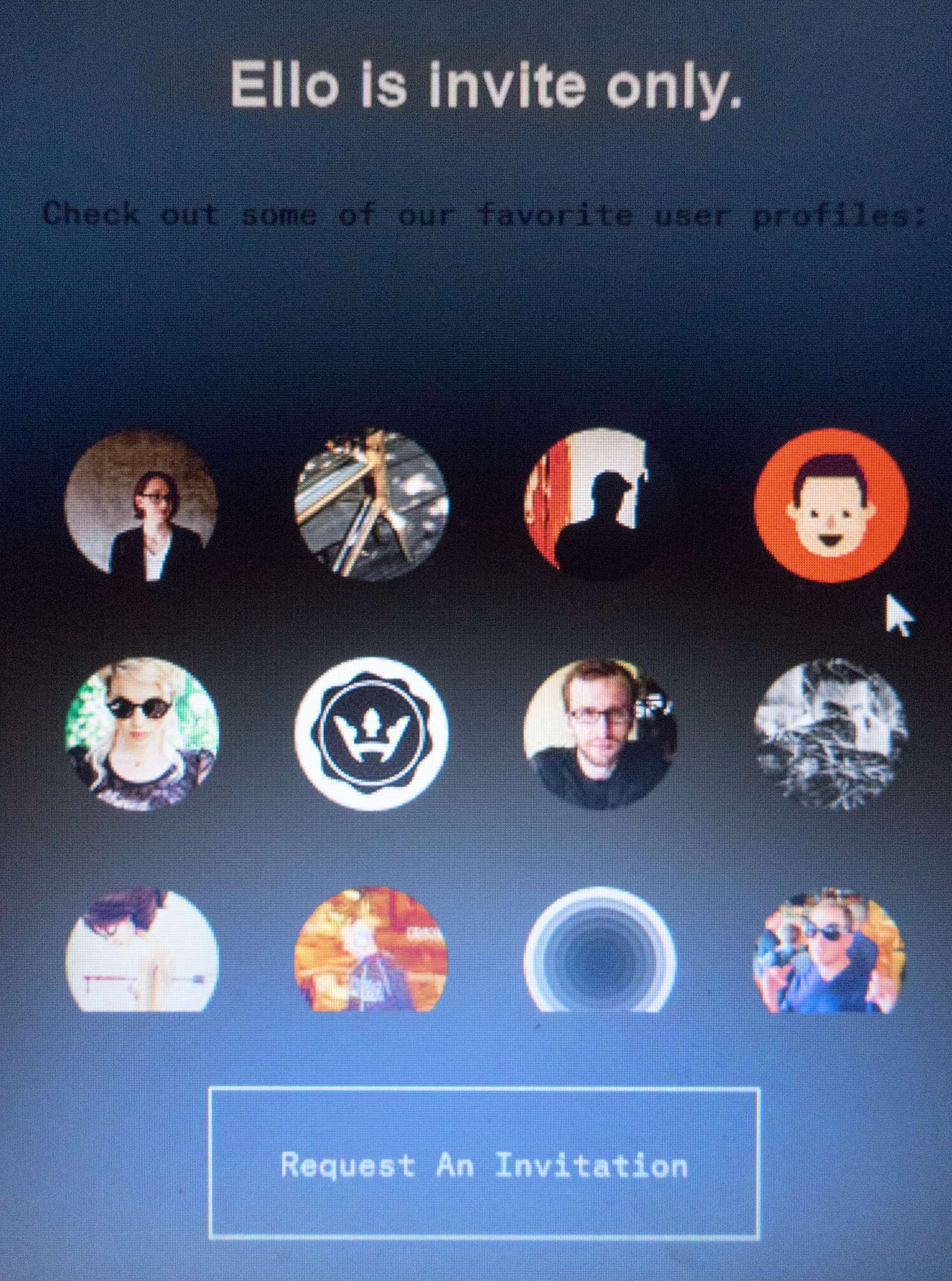 If you're going to sign up for Ello, do it for the right reasons