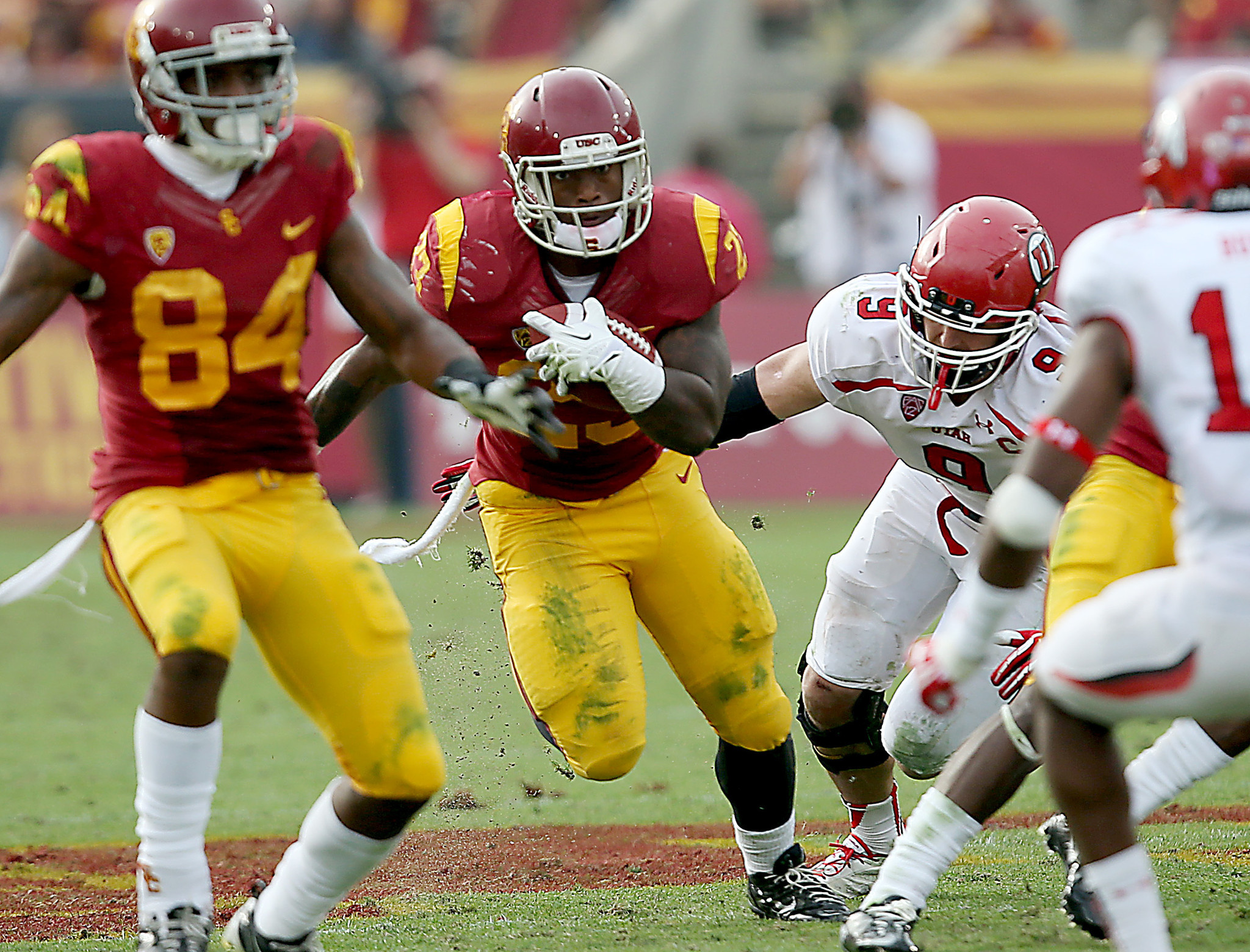Trojans tailback Tre Madden attempts to come back from toe injury