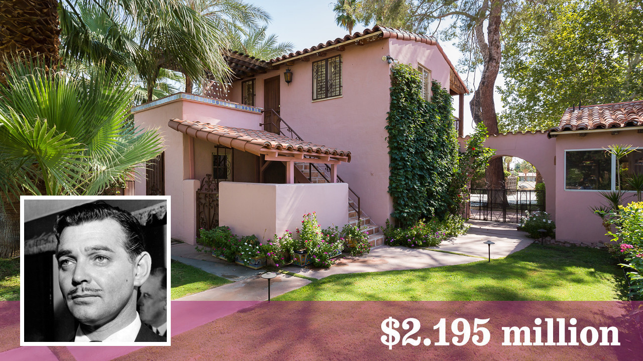clark gable/carole lombard estate for sale in palm springs - la times