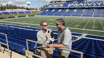 Video: Navy Sports Chat, Air Force preview, Western Kentucky recap