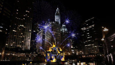 The Great Chicago Fire Festival lights up the riverfront Oct. 4