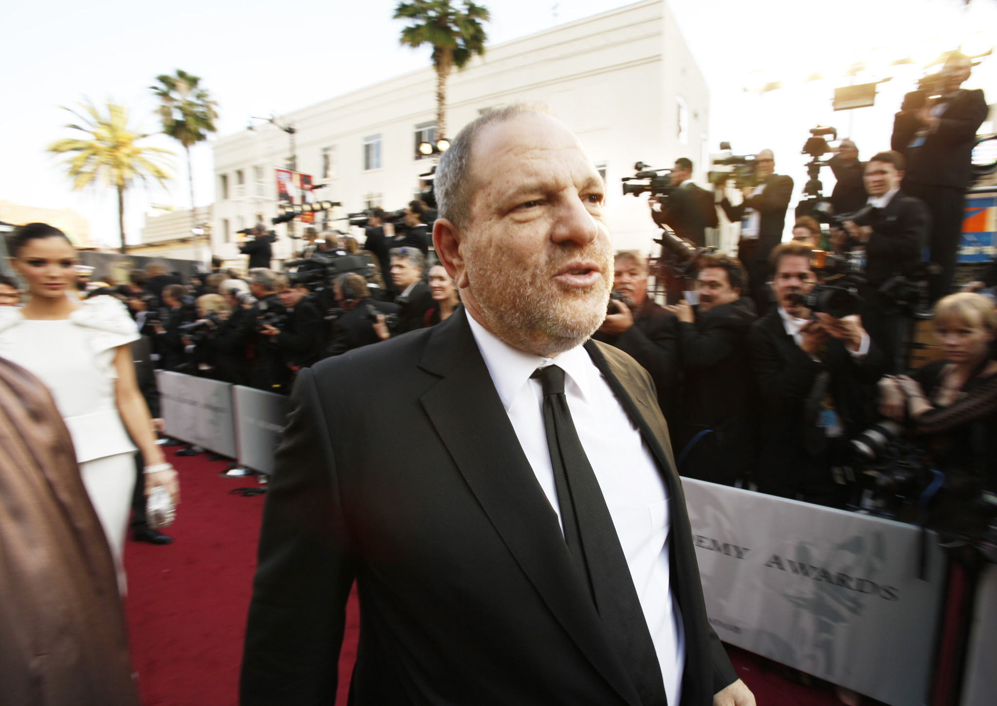 Weinstein Co. is facing a crisis amid sexual harassment allegations against Harvey Weinstein. (Al Seib / Los Angeles Times)