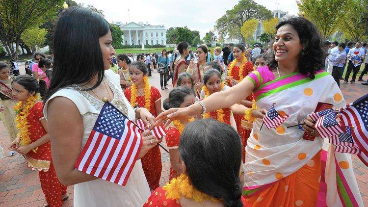 Indian prime minister visits White House