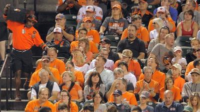 Halethorpe man celebrates 40 years of slinging beers to O's fans