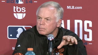 Orioles' Showalter on roster for ALDS [Video]