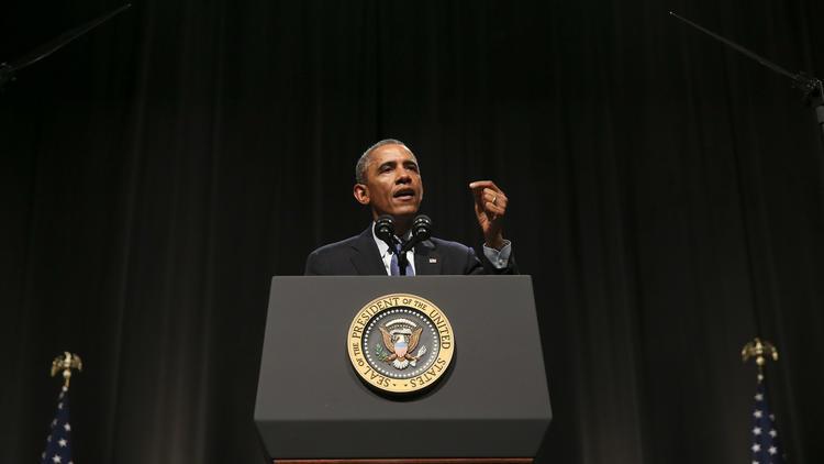 Obama in Evanston