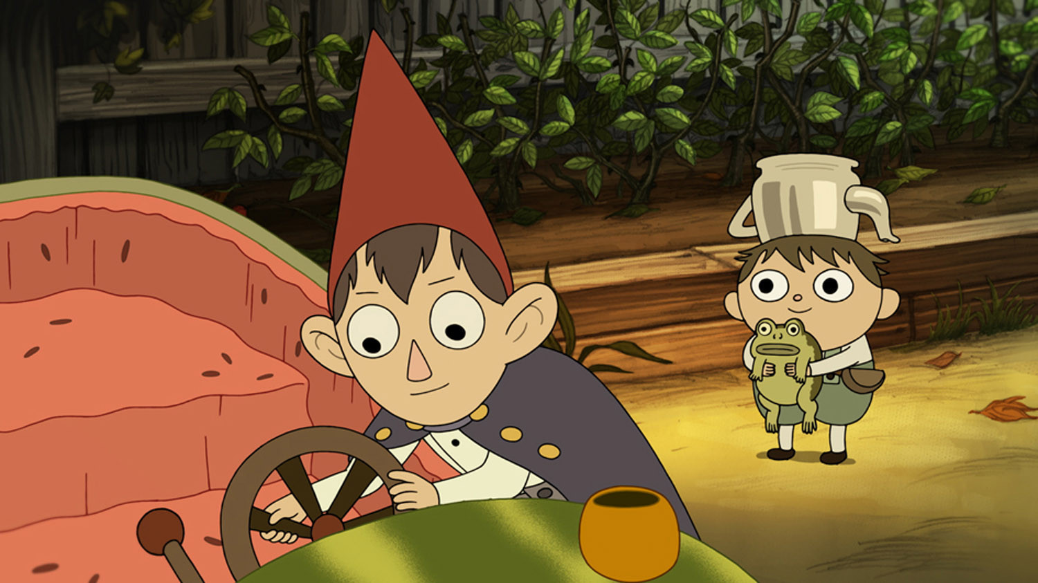 39 over the garden wall 39 gets lost in creator 39 s imagination la times