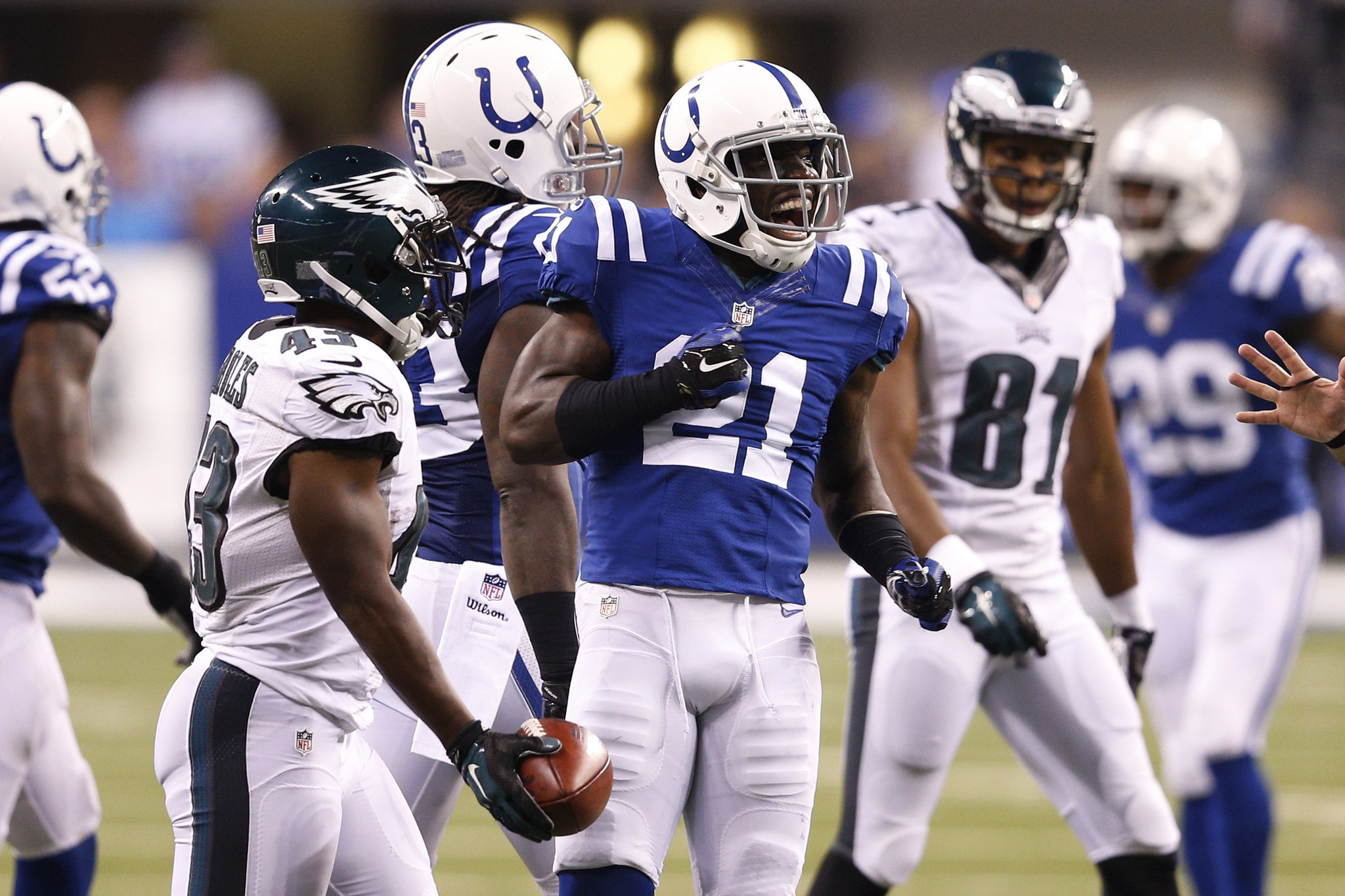 Colts corner Vontae Davis has been on a roll lately Baltimore Sun
