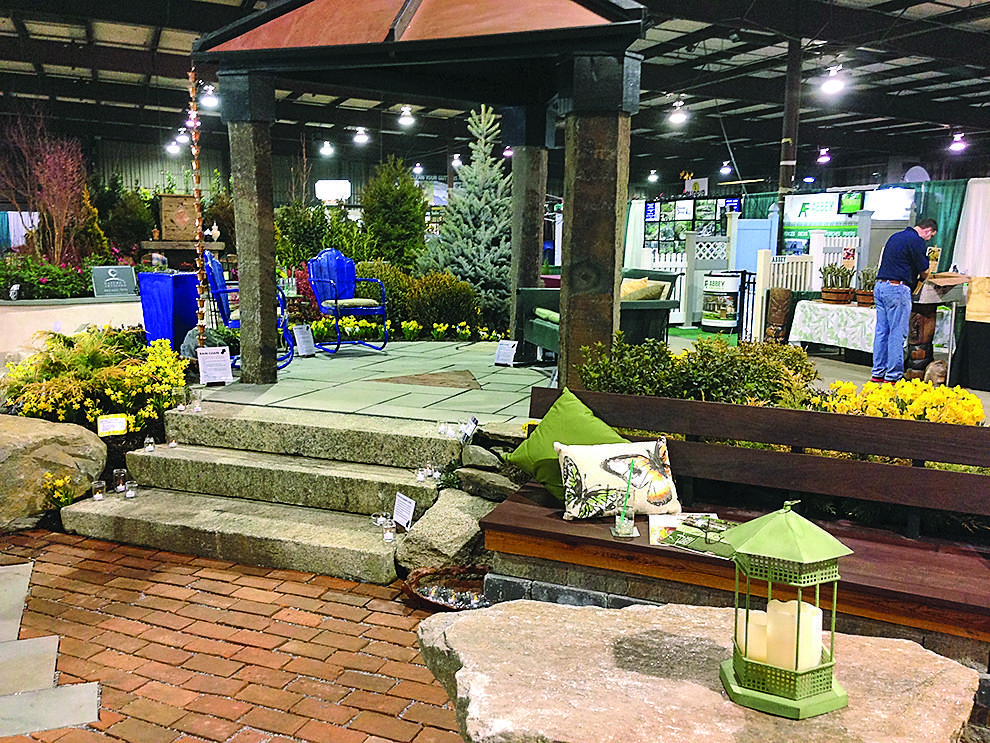 Carroll landscaping 39 s sustainable garden tribunedigital Md home and garden show