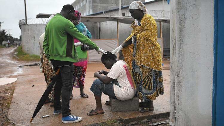 Ailing in Monrovia, Liberia