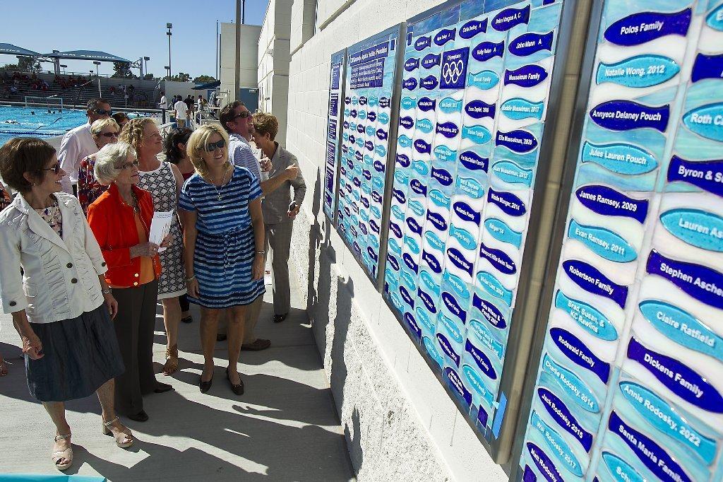 Marian Bergeson Aquatic Center Renovation Complete La Times
