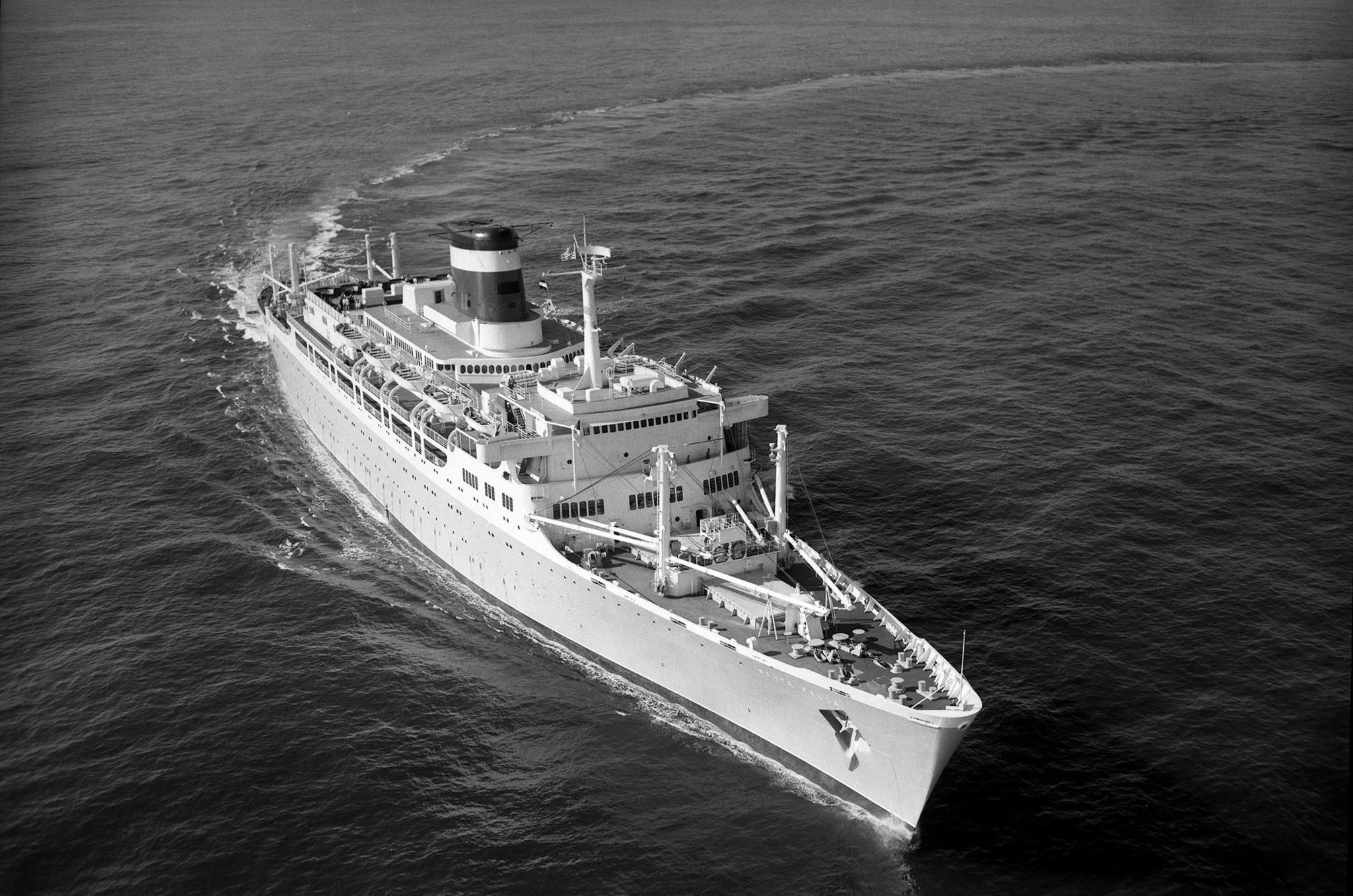Newport News Shipbuilding S Last Passenger Ship The Ss