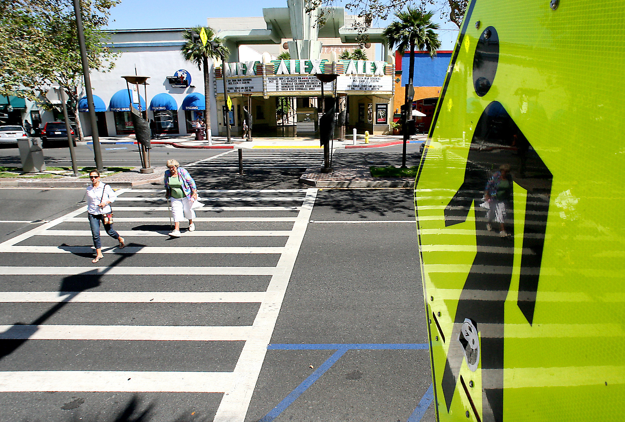 increasing pedestrian safety America isn't making progress on pedestrian safety, with people on foot  accounting for a steadily rising share of overall traffic fatalities in 2017.