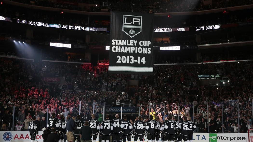 Kings Celebrate Stanley Cup