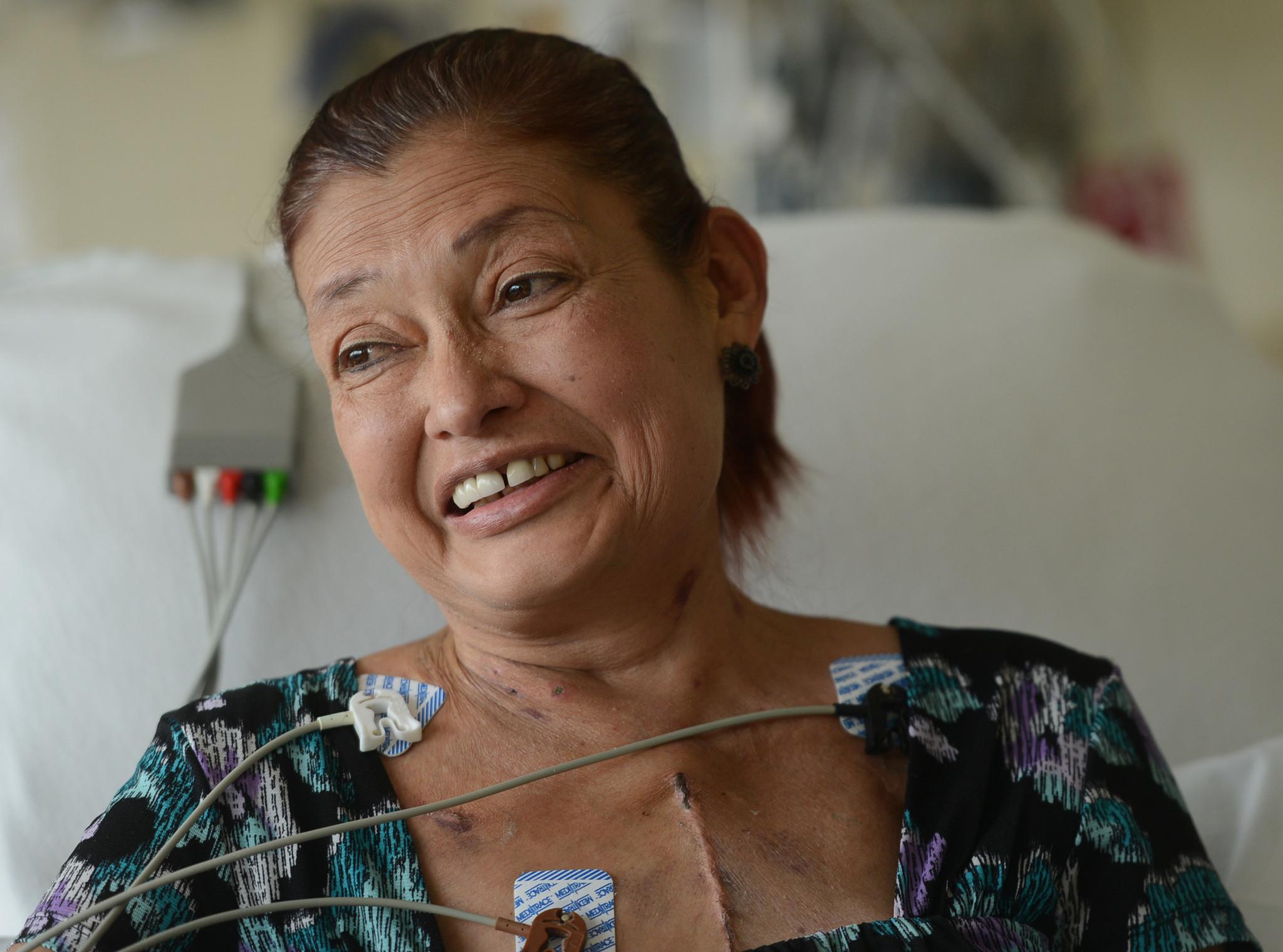 Heart Transplant Scar