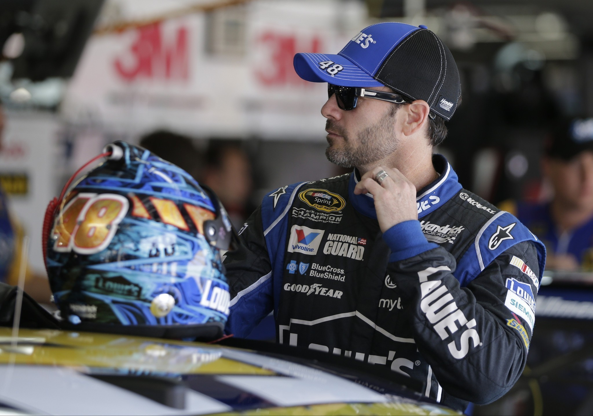 NASCAR's struggling Jimmie Johnson hopes for another win at Charlotte