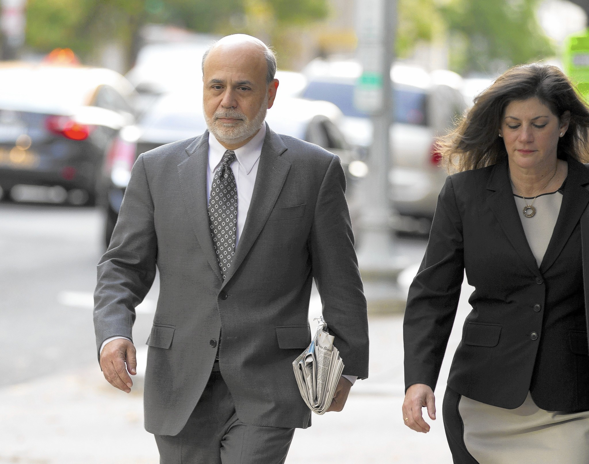 Former Fed chief Ben Bernanke defends AIG bailout in court