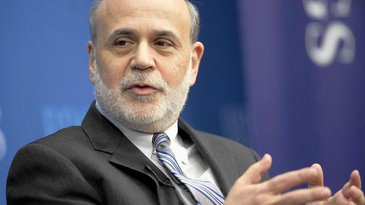 Federal Reserve Chairman Bernanke Speaks At The Brookings Institution