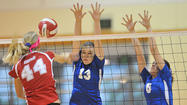 Photo Gallery: Burbank vs. Burroughs girls volleyball