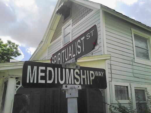 The spiritualist community of Cassadaga offers psychic connections year-round.