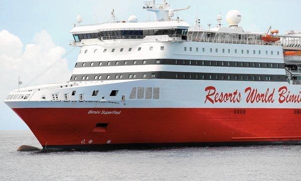 Bimini SuperFast Begins Sailing From Port Everglades Sun Sentinel - Bimini superfast cruise ship