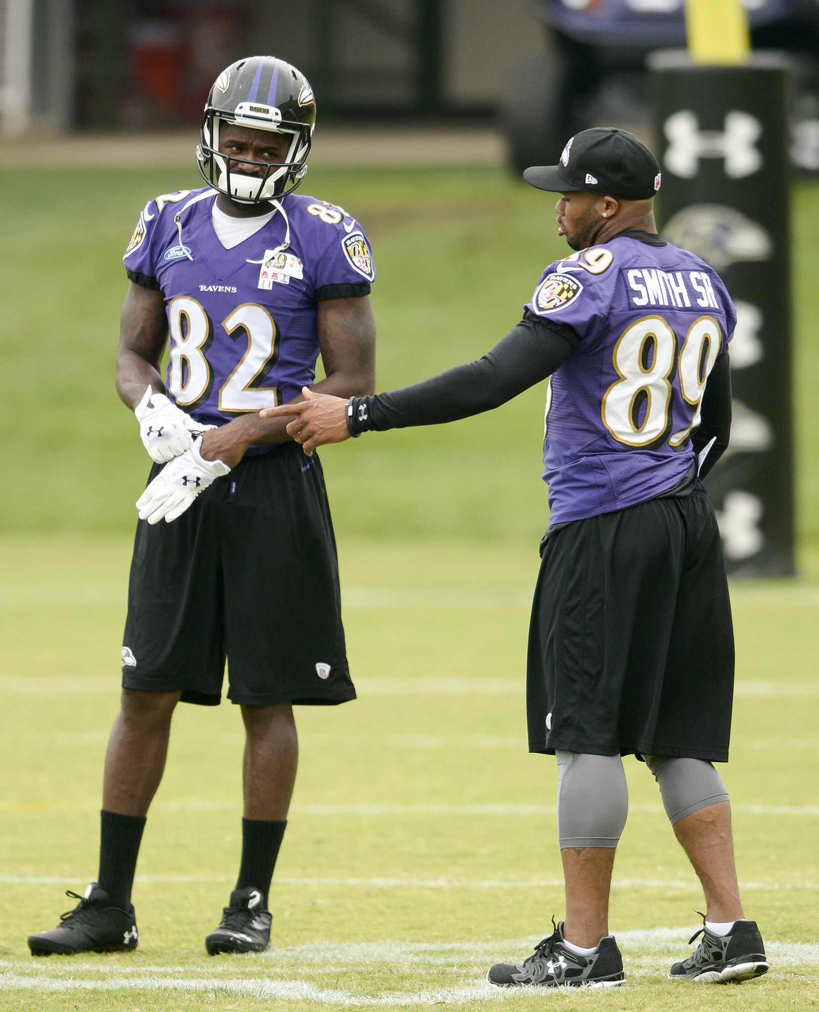 Torrey Smith And Steve Smith Torrey Smith And Steve Smith