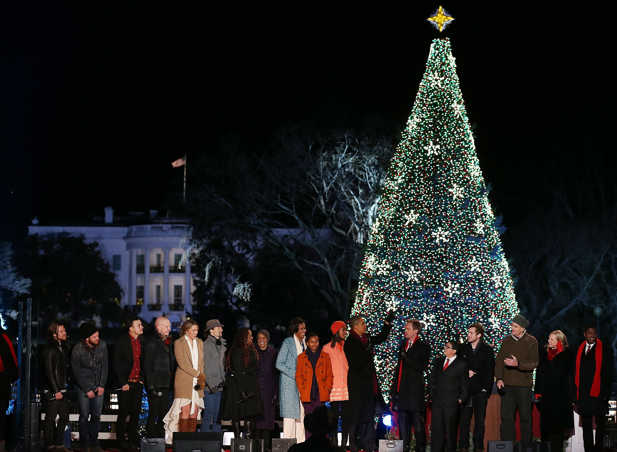 National Christmas Tree Lighting Lottery