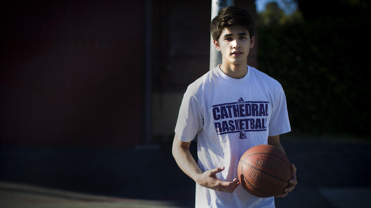 There's a new Kobe in town at Cathedral High - LA Times