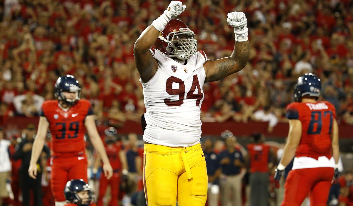 USC defensive lineman Leonard Williams raising profile with big