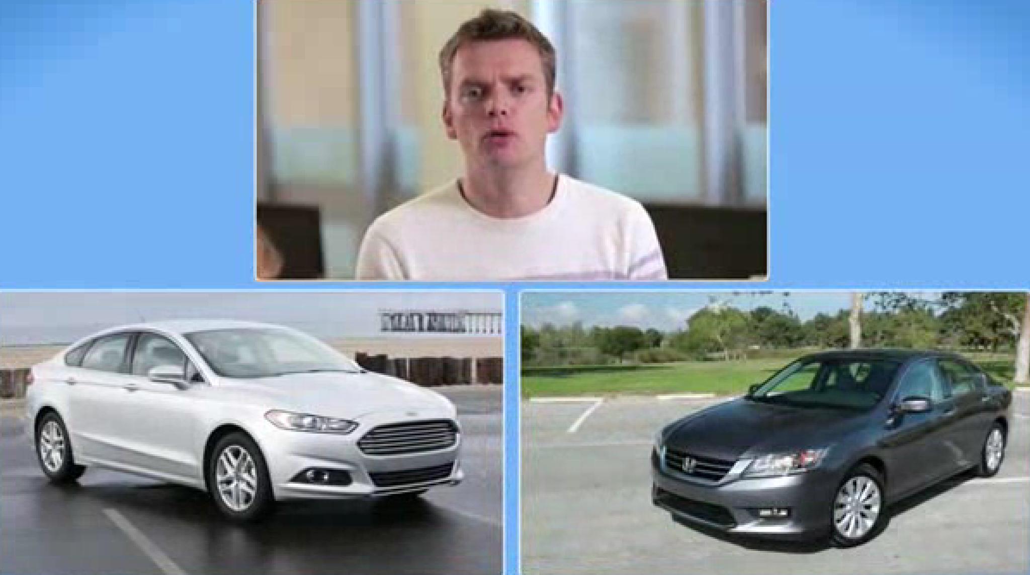 Honda Accord Vs Ford Fusion >> Honda Accord vs. Ford Fusion, two sedans face off - Chicago Tribune