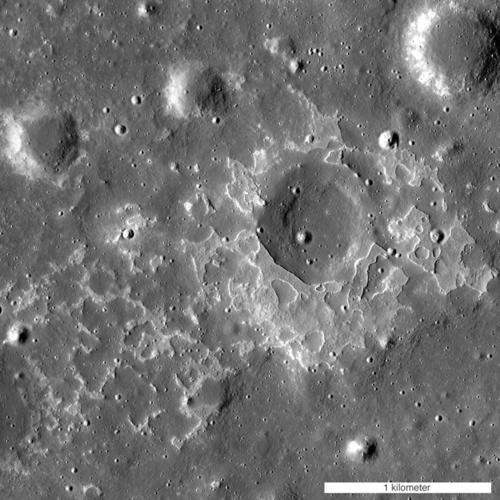 Patches reveal recent lunar volcanism