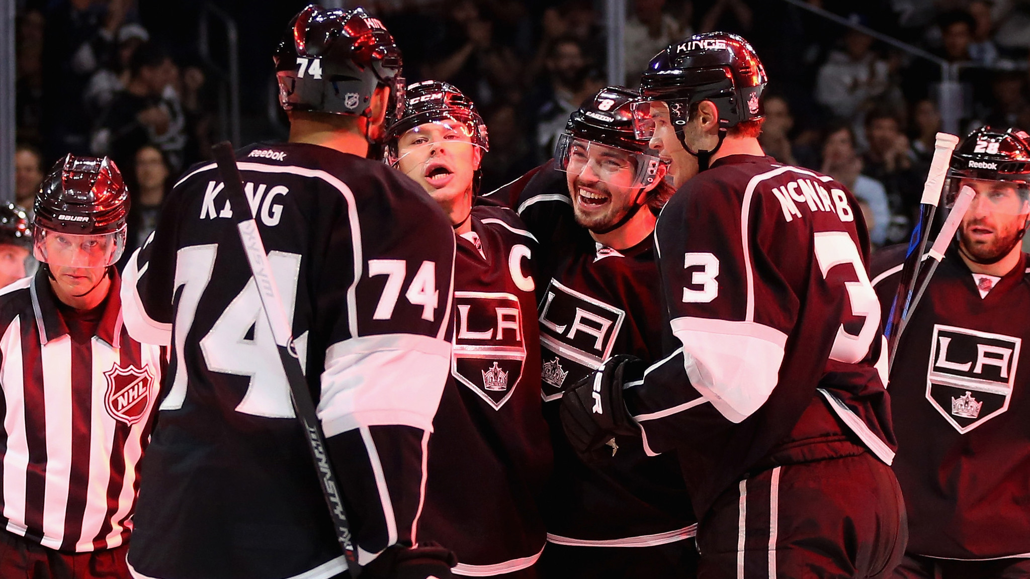 Kings Are A Scoring Machine In 6-1 Victory Over Oilers
