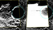 NASA Messenger mission captures photos of polar ice on Mercury