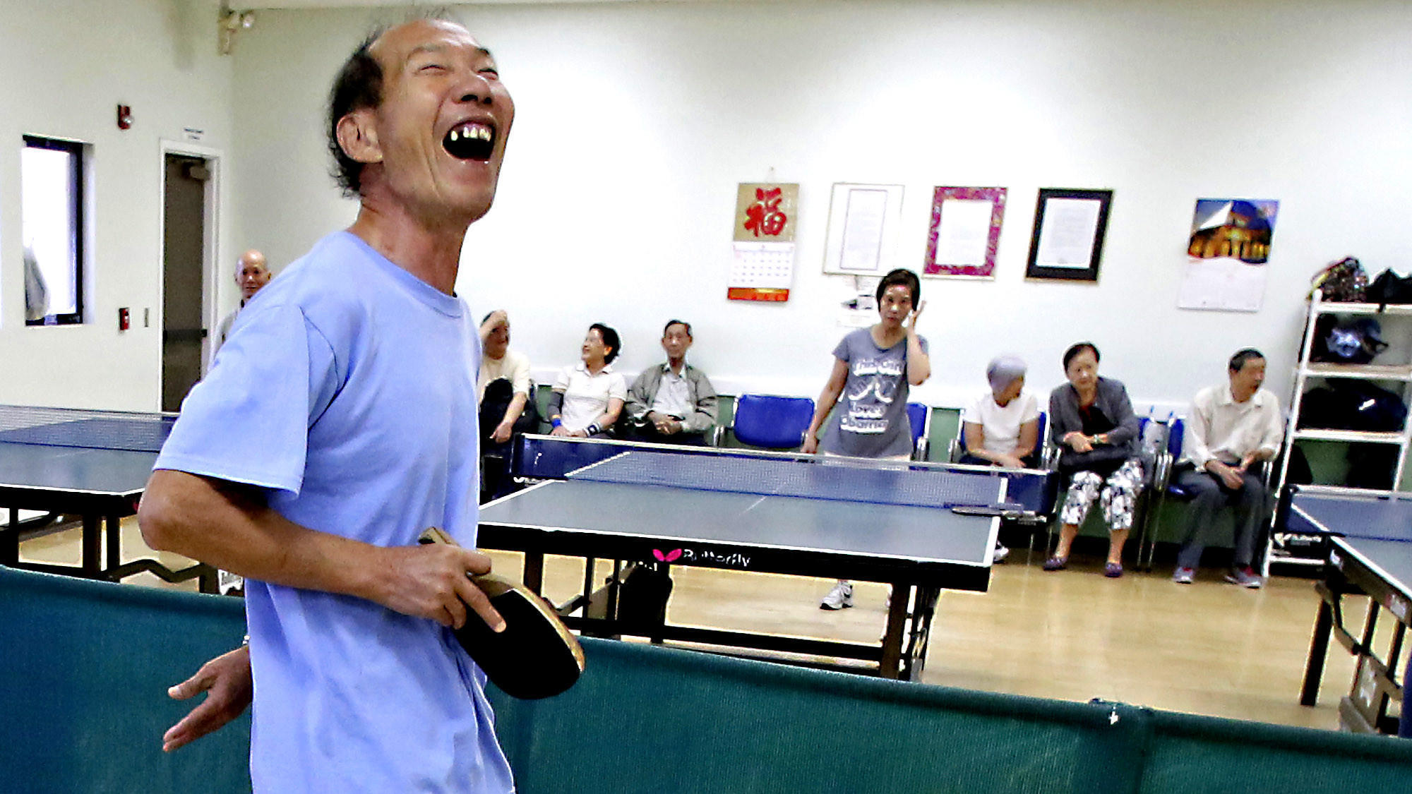 aging players keep on the ball with pingpong - la times