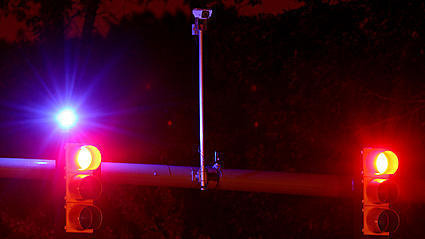 Video: Blue Traffic Indicator Lights