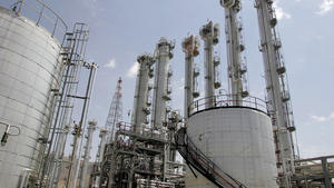 Related story: Iran nuclear talks again stuck on Arak reactor's future, official says