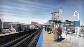Damen Blue Line stop to close Monday for 2 months of renovations