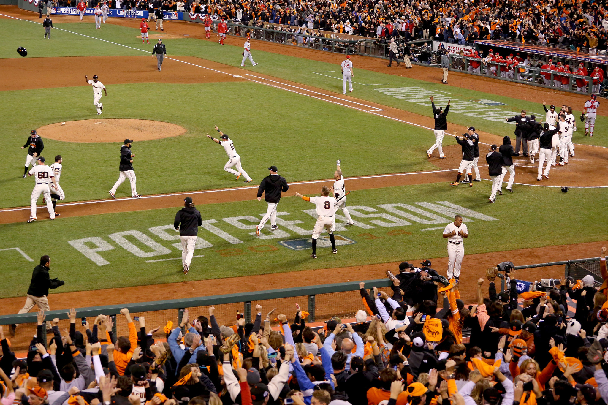 Walk Off HR Sends Giants To World Series Vs Royals
