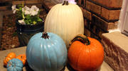Teal pumpkins signal safe Halloween treats for kids with allergies
