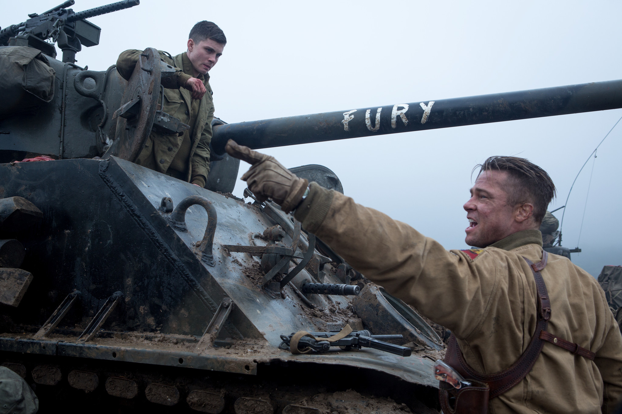 Fury Brad Pitt Tank Drama Carries Out Its Mission Reviews Say - New official trailer fury starring brad pitt